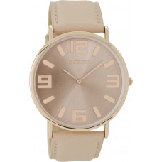 OOZOO Timepieces Vintage Rose Leather Strap C8846