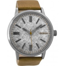 OOZOO C9405 Timepieces Brown Leather Strap