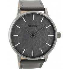 OOZOO C9440 Timepieces Gray Leather Strap