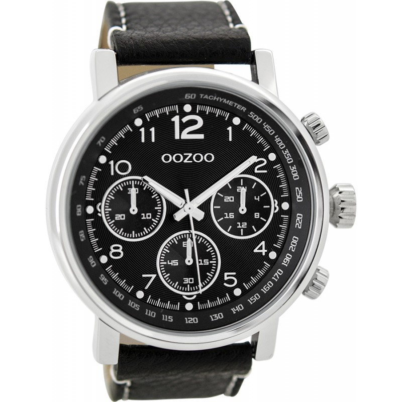 OOZOO C9455 Timepieces Brown Leather Strap 985f1ce2ff1